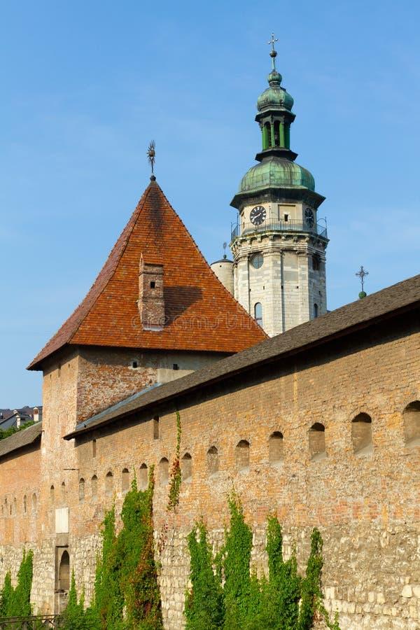 Free Hlyniany Gate Of The Bernardine Monastery In Lviv Royalty Free Stock Photo - 176943605