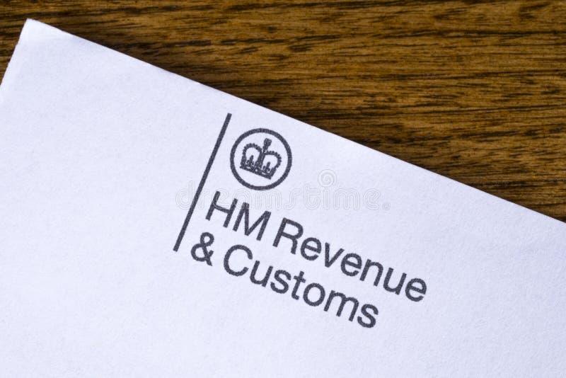 HM доход и таможни стоковое изображение