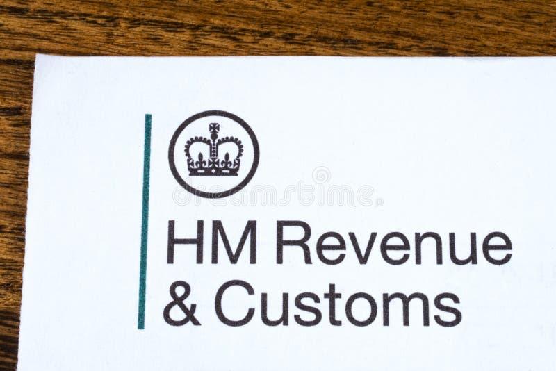HM доход и таможни стоковые изображения rf