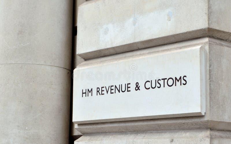 HM dochód & Customs obrazy stock