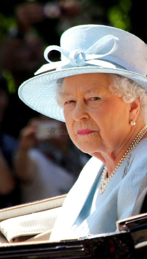 HM Koningin Elizabeth II stock fotografie