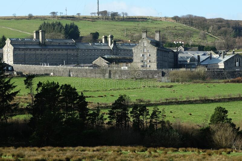 Dartmoor Prison Princetown England. royalty free stock photo