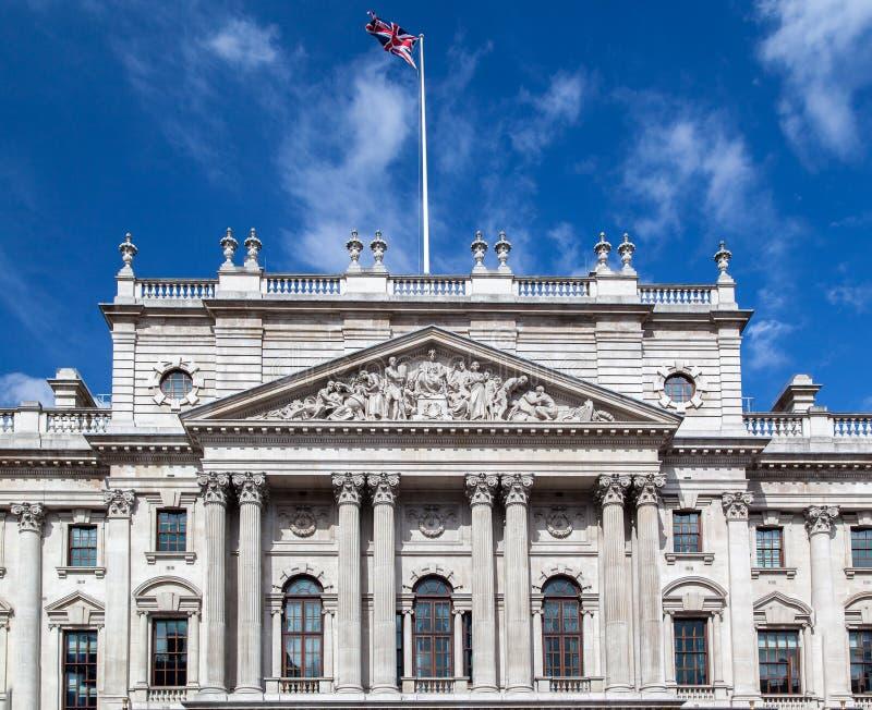 HM rédito y aduanas que construyen Londres Inglaterra imágenes de archivo libres de regalías