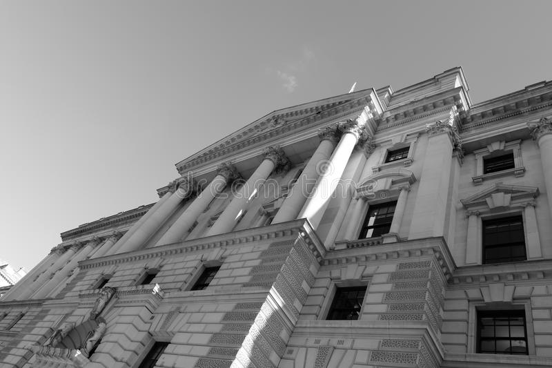HM Treasury imagens de stock