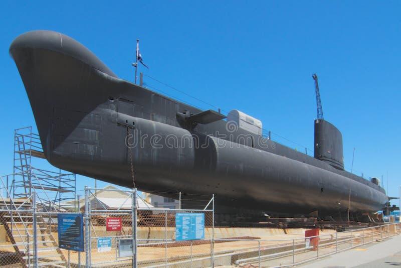 HMAS-Ofen-West-Australien-Seemuseum stockbilder