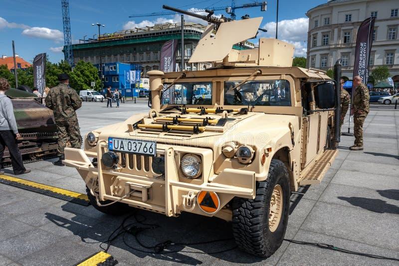 HMMWV Humvee arkivbild