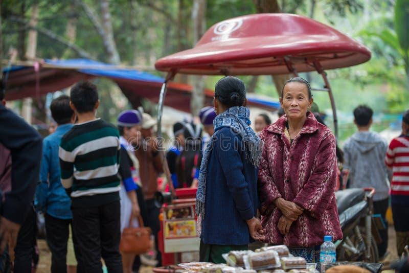 Hmong新年庆祝 免版税库存照片