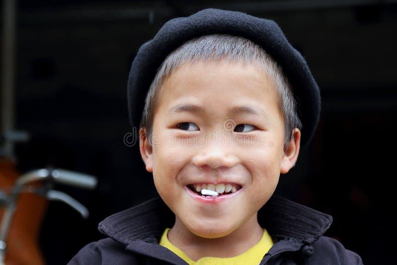 Hmong dzieci zdjęcie royalty free