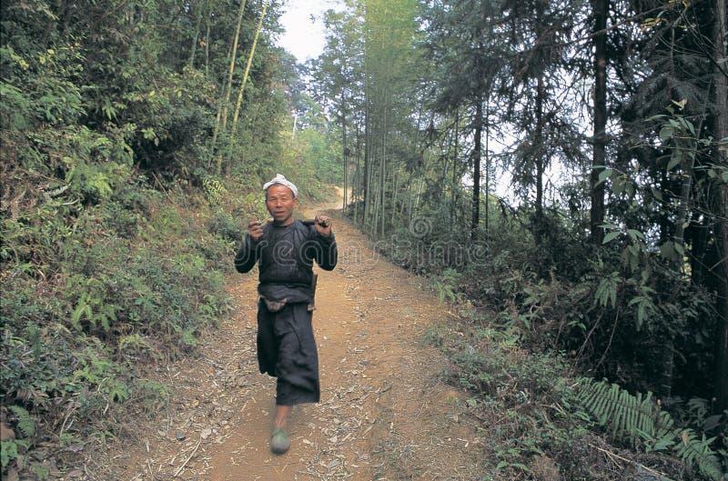 Hmong i southwest Kina arkivbild