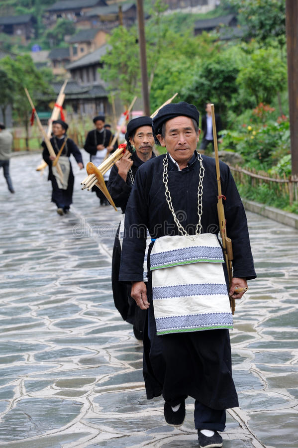 Download Hmong Musicians From Guizhou With Lusheng Editorial Photography - Image: 25442832