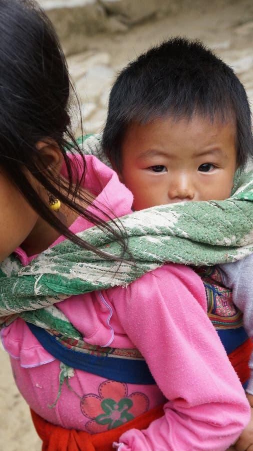 Hmong SAPA, Vietnam foto de archivo