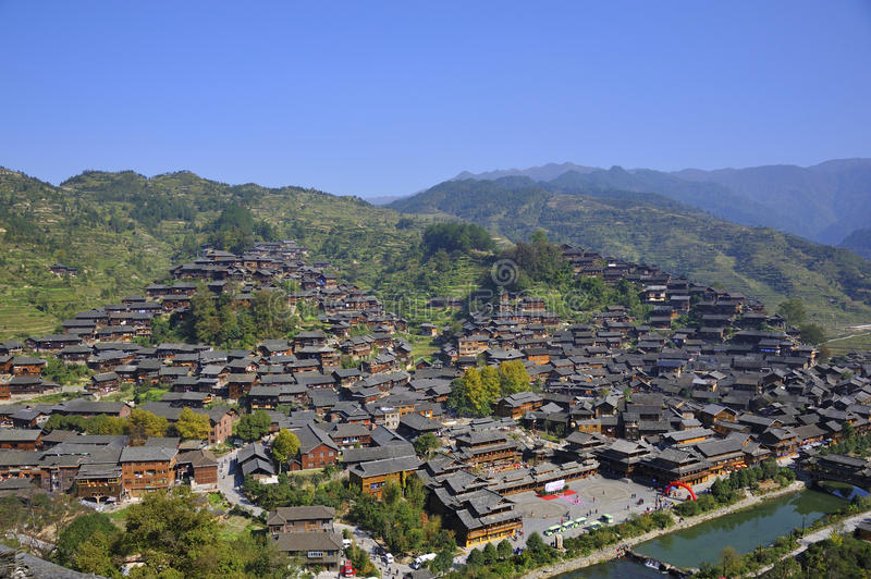 Download Hmong village stock image. Image of asian, miao, rural - 27458549