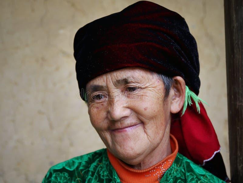 Hmongoudste stock foto