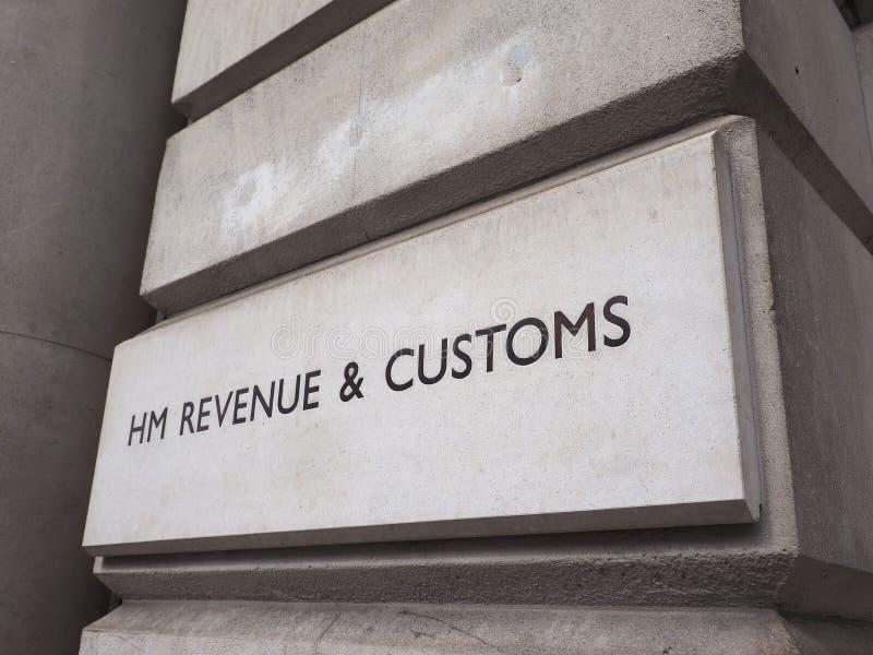 HMRC in Londen stock fotografie