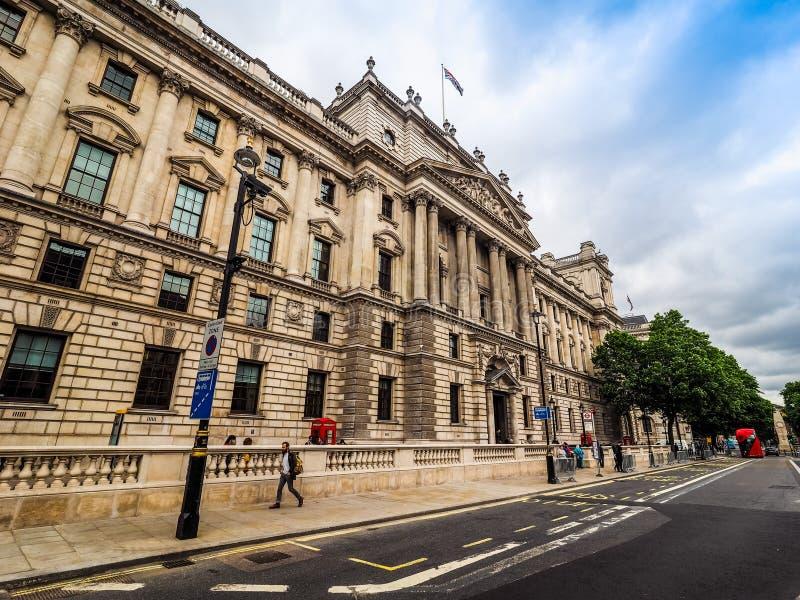 HMRC w Londyn, hdr zdjęcie stock