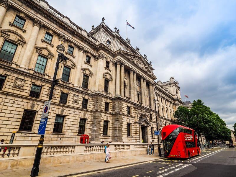 HMRC w Londyn, hdr obrazy stock