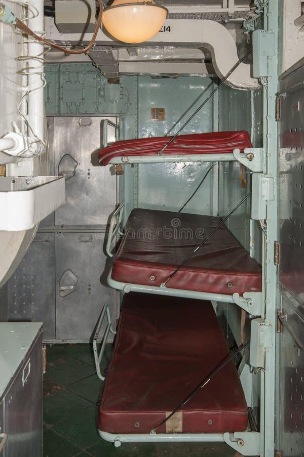 HMS-Kavalier Messdeck lizenzfreie stockbilder