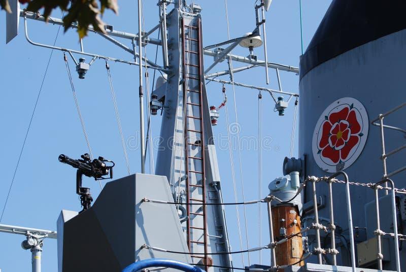 HMS Ledbury 免版税图库摄影