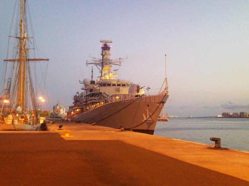 HMS Portland stock foto