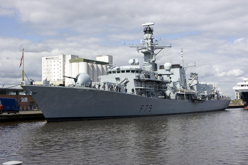 Download HMS Portland At Leith, Edinburgh, Scotland Editorial Image - Image: 21234920