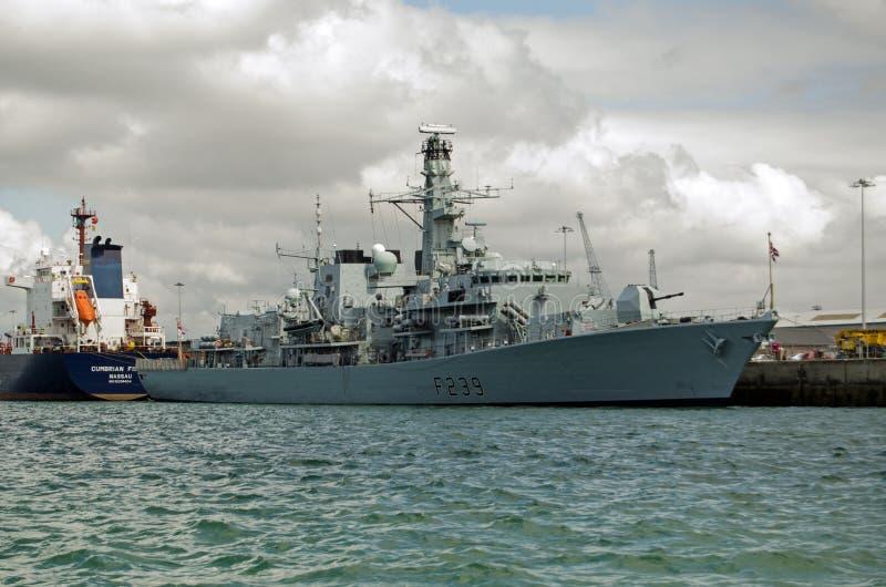 HMS Richmond, Portsmouth Fotografía editorial
