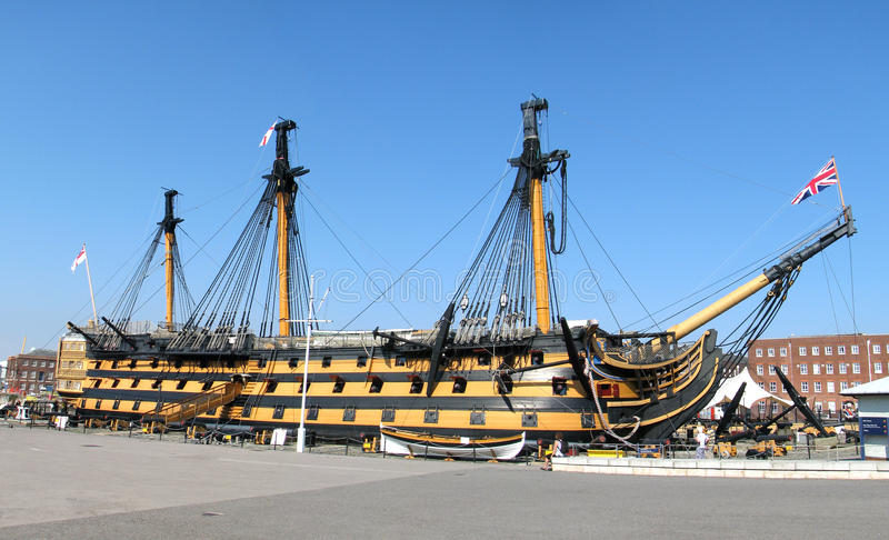 Download Hms Victory Editorial Stock Image - Image: 26150394
