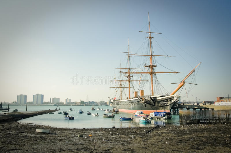 Download HMS Warrior editorial photography. Image of boat, dock - 23263647