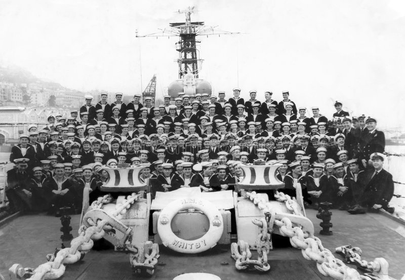Download HMS Whitby 1961 editorial stock image. Image of fleet - 7604349
