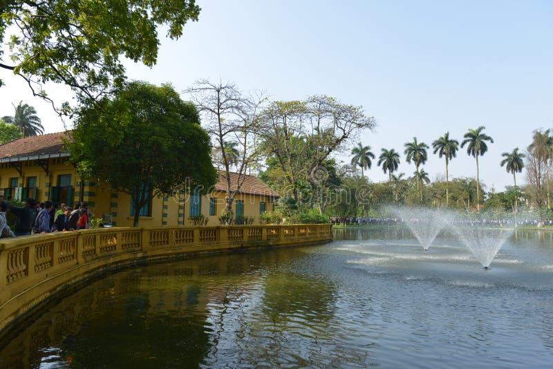 Ho池氏极小的前住所在河内,越南 图库摄影