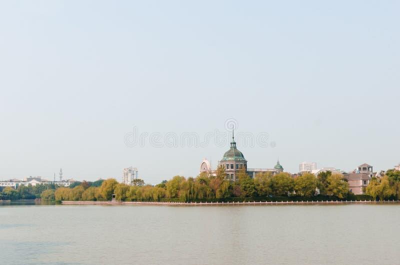 Ho река пейзаж стоковое фото rf