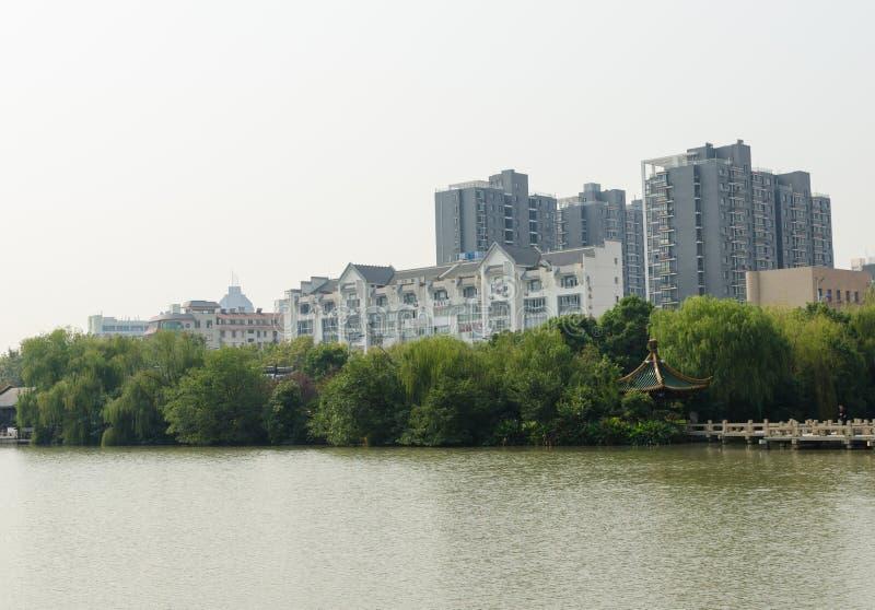 Ho река пейзаж стоковые изображения