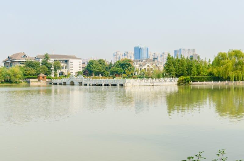 Ho река пейзаж стоковое изображение