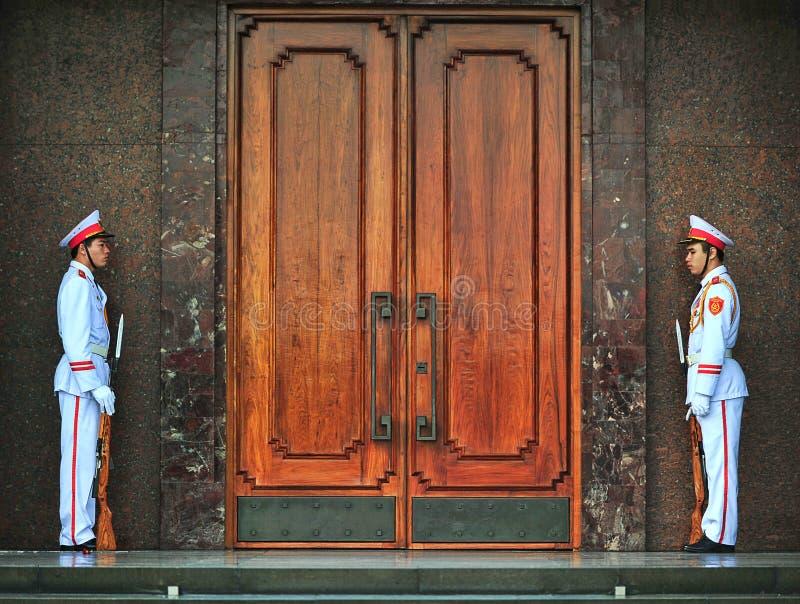 Ho Chi Min Masoleum, Hanoi Foto de archivo editorial