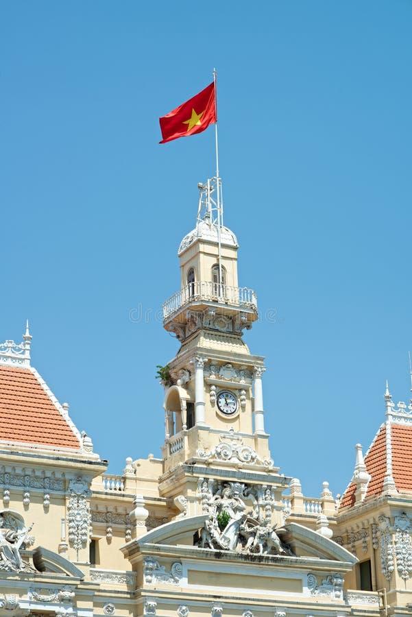 Download Ho Chi Minh Building En Vietnam Fotografía editorial - Imagen de gobierno, cielo: 41913982
