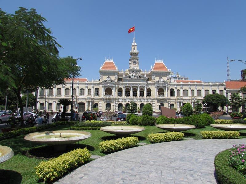 Ho Chi Minh City Hall (saigon) immagini stock libere da diritti