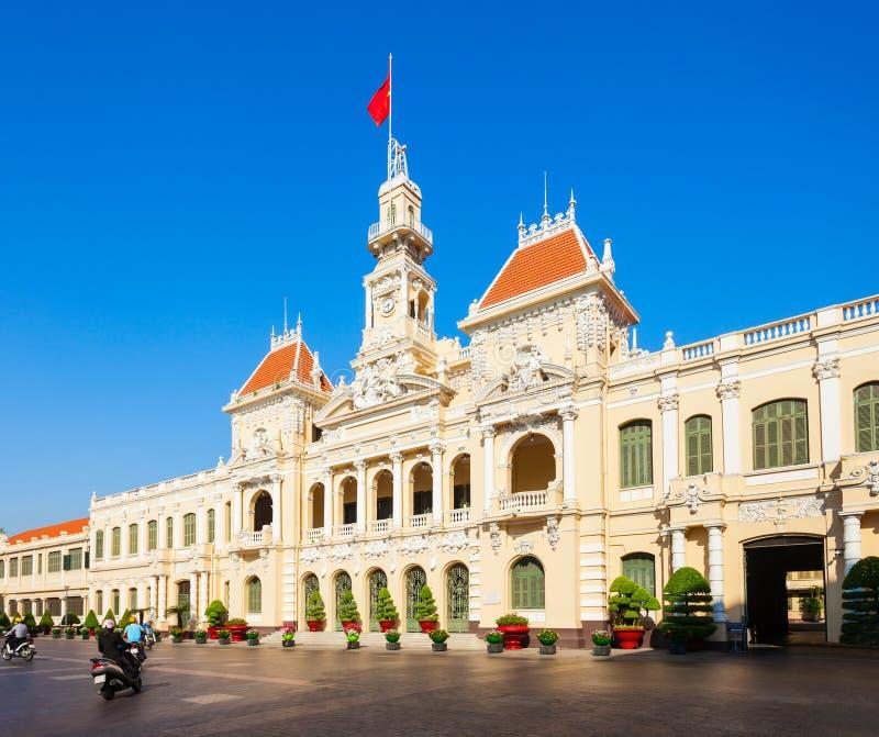 Ho Chi Minh City Hall royalty free stock photography