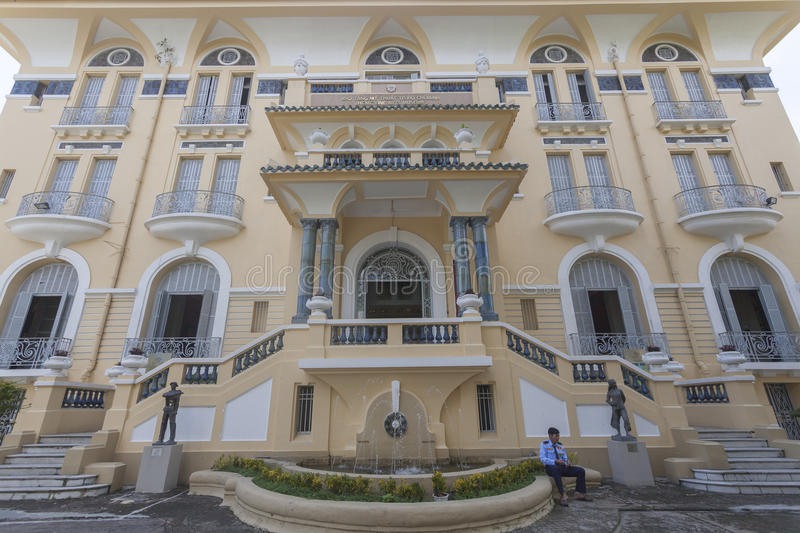 Ho Chi Minh City Museum. Of Fine Arts is the major art museum of HCM City, Vietnam, and second in the country only to the Vietnam National Museum of Fine Arts stock photo