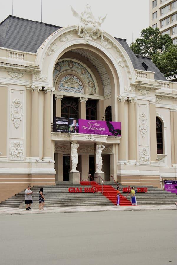 Ho Chi Minh City Opera-Haus stockfoto
