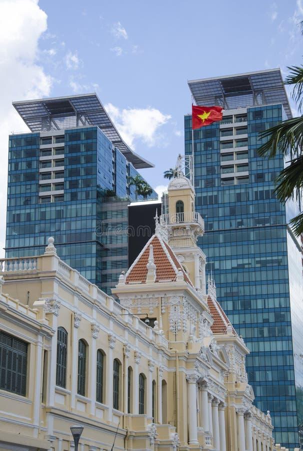 Ho Chi Minh City Salão imagens de stock royalty free