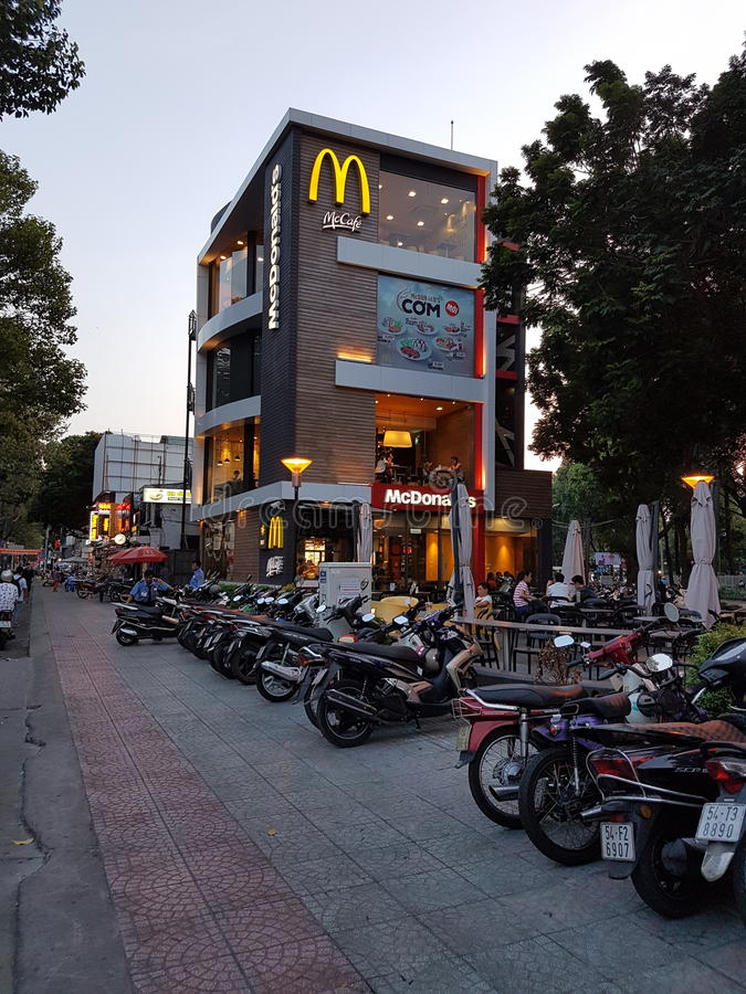Ho Chi Minh City Vietnam imagens de stock royalty free