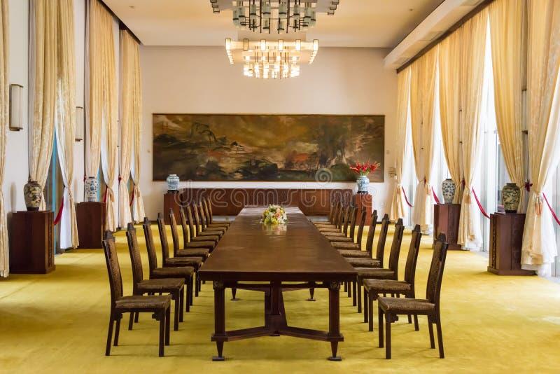 Ho Chi Minh City, Vietnam - Jan 26 2015: State Banqueting Hall a stock image
