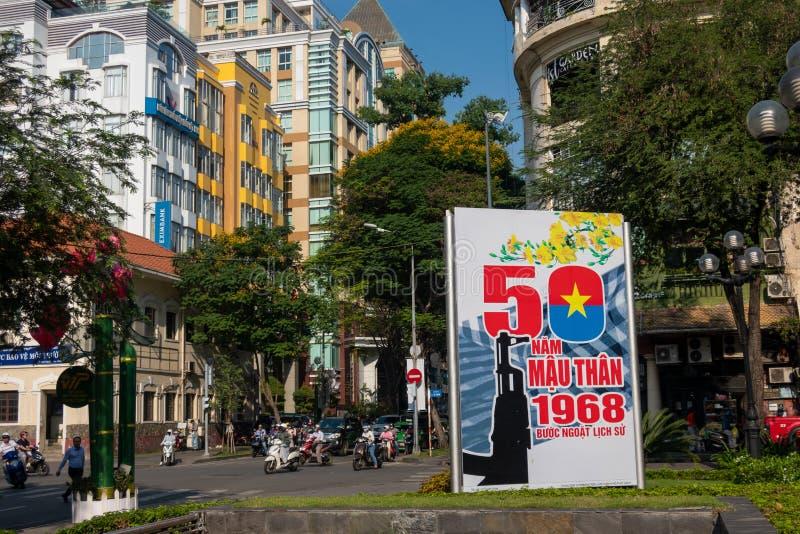 Ho Chi Minh City, Vietnam royalty free stock photo