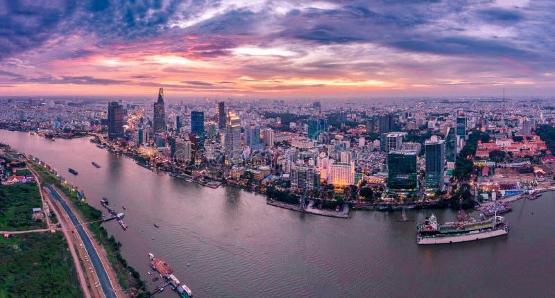 Ho Chi Minh City Vietnam Saigon foto de archivo libre de regalías