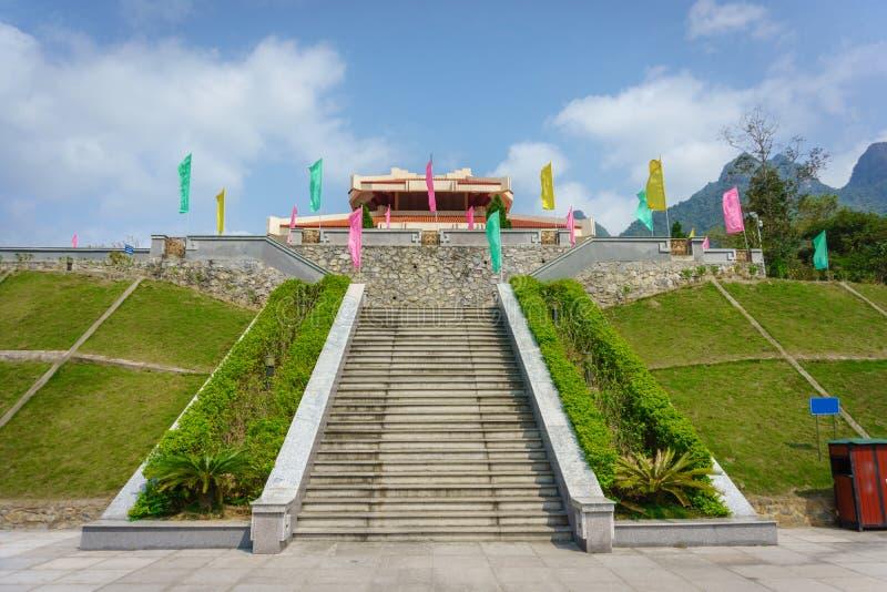 Ho Chi Minh-Denkmal lizenzfreie stockfotos