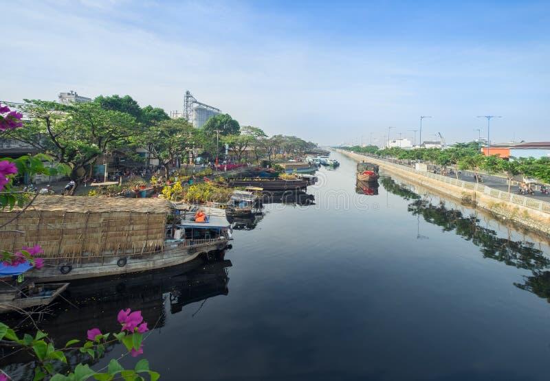 Ho Chi Minh Developing lizenzfreies stockbild
