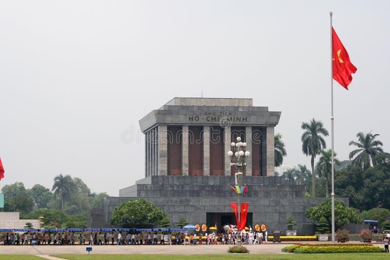 Ho Chi Minh mausoleum stock photography