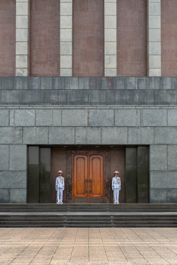 Ho Chi Minh Mausoleum Front imagem de stock