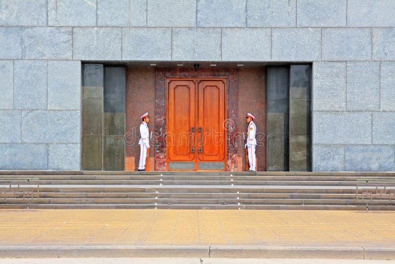 Ho Chi Minh mauzoleum, Hanoi Wietnam fotografia royalty free