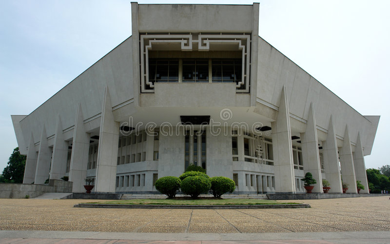 Ho Chi Minh Museum stock photo