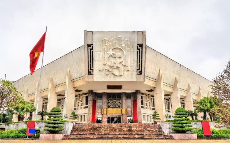 Ho Chi Minh Museum in Hanoi, Vietnam stock images